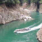 【パワースポット】断崖絶壁を望む大パノラマ!秘境の清流【三重県,熊野市,瀞峡】