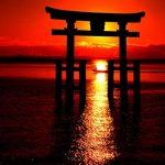 【パワースポット】日本一の湖に浮かぶ鳥居の謎とは!【滋賀県・高島市 白髭神社】