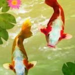 〈金運・成功運〉をアップさせたい時には鯉のアイテムが活躍!