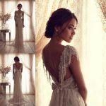 ヴィンテージウエディングドレスで開運へ(●´ω`●)