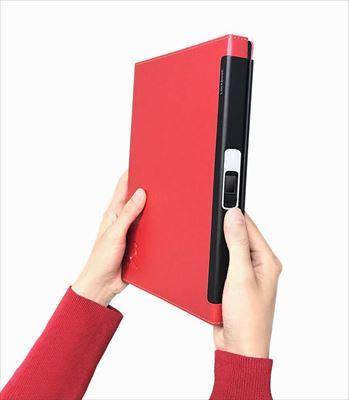 指紋認証ノートブック