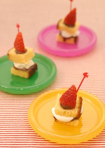 ピンチョスケーキ