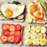 フルーツのぎゅうぎゅう焼きトースト