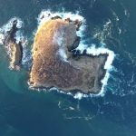 ハート型の島が話題