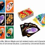 「UNO」と「ミニオンズ」がコラボ オリジナルカード。全体運