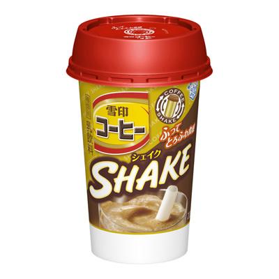 雪印コーヒーのシェイク