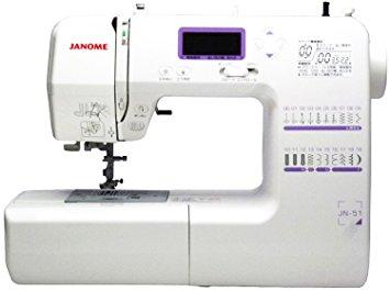 JANOME コンピューターミシン JN-51