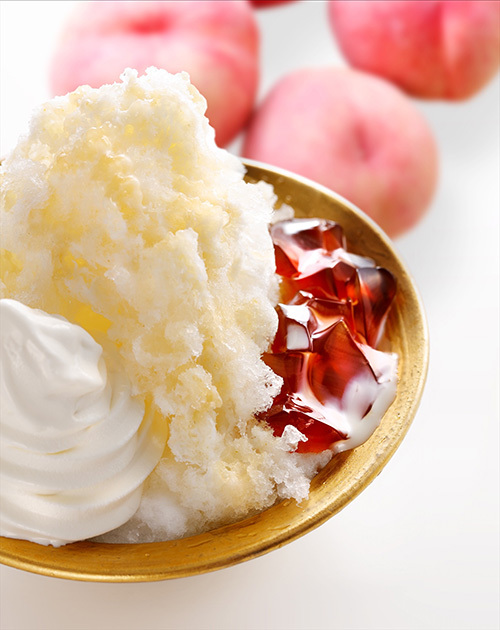 """コメダ珈琲店から""""名物かき氷"""