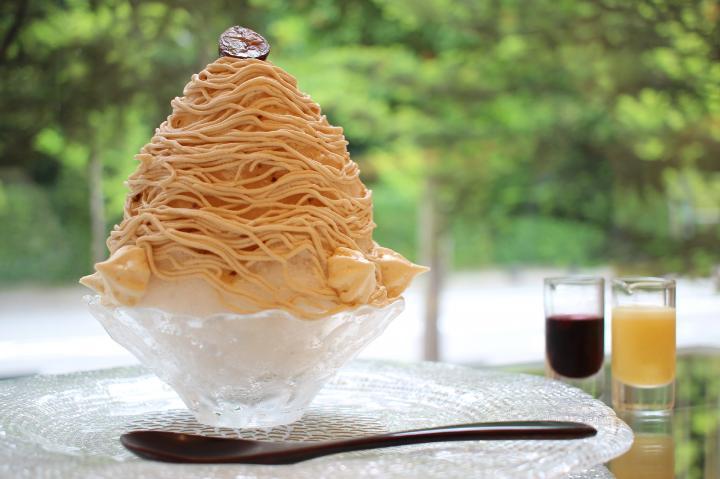 京都マールブランシュのかき氷