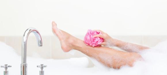 正しい身体の洗い方