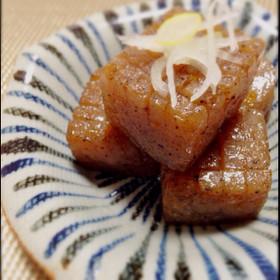 柚子胡椒こんにゃく