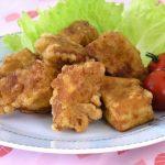 お肉を使わず「高野豆腐」で作るお肉風料理で家庭運