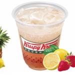 """クリスピー・クリームに""""トロピカル""""なソーダ&フローズン。対人運を。"""
