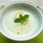 切って入れるだけ「きゅうりの冷製スープ」家庭運