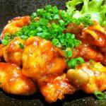 むね肉とポテトで作る「鶏チリ」家庭運