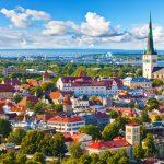 エストニアの首都「タリン」全体運