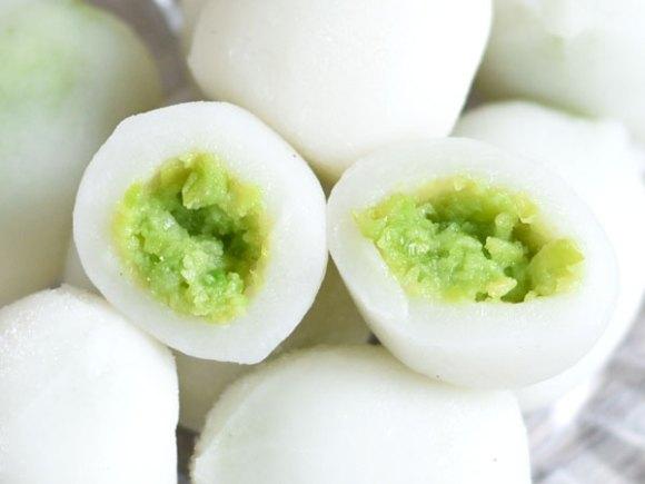 宮城名物「ずんだ餅」を冷凍枝豆