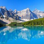 カナダにあるモレーン湖が絶景開運