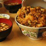 浅草「天健」のかき揚げ丼が絶品開運