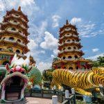 台湾の高雄で人気の観光地「龍虎塔」開運