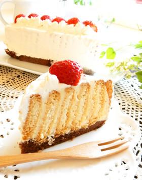 焼かないショートケーキ