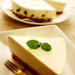 水切りヨーグルトで作る「ふんわりレアチーズ」家庭運