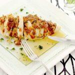 鶏むね肉で作る「ハッセルバックチキン」家庭運