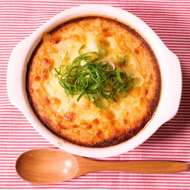 餅チーズ明太のとろとろ焼き