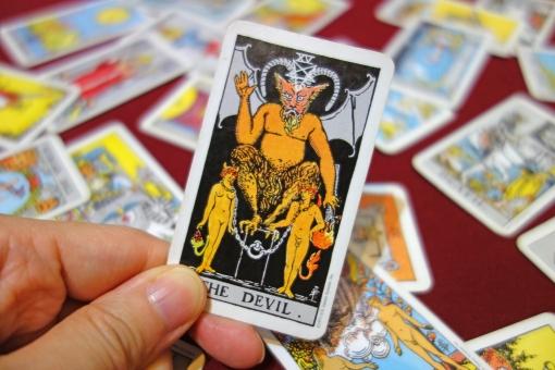 【タロット開運塾】大アルカナ≪悪魔≫に学ぶ「恋愛運・仕事運・金運・対人運」